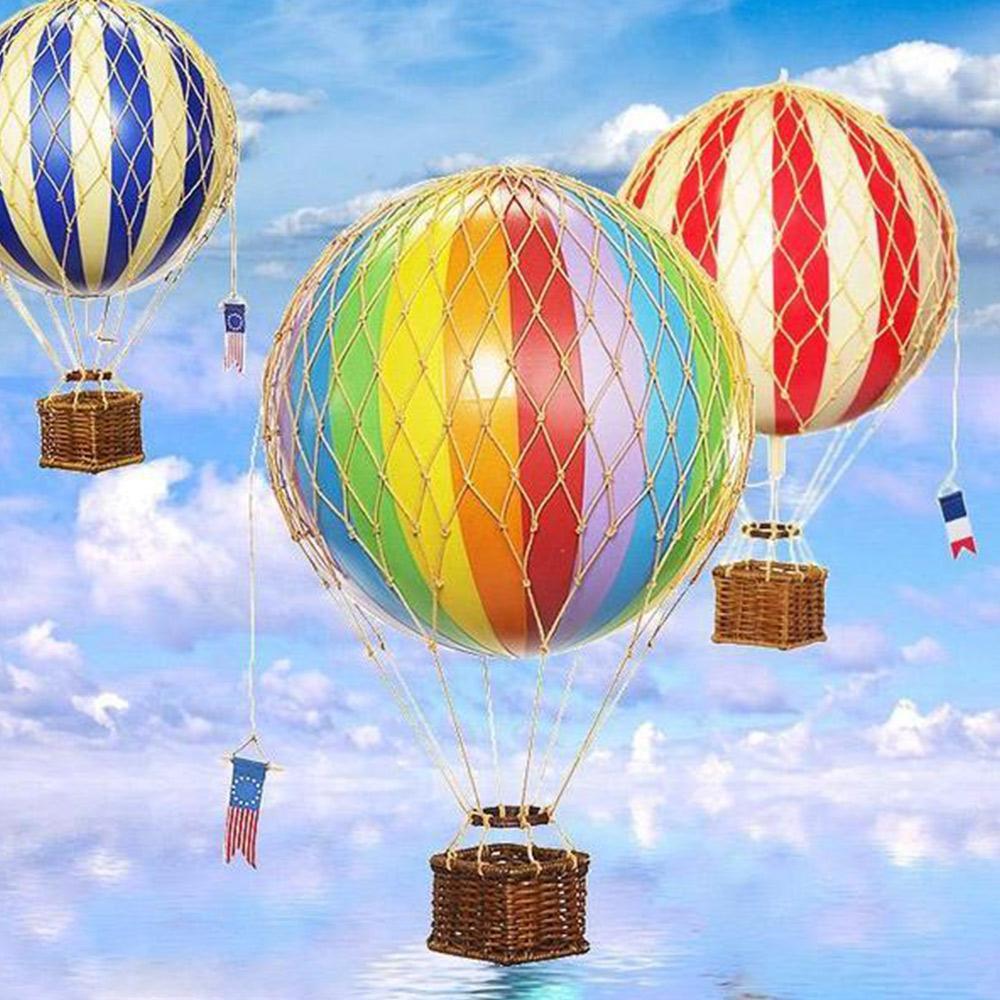 Ornamental Vintage Hot Air Balloons