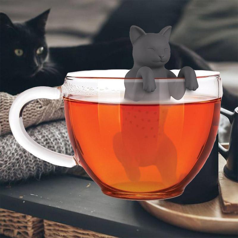 Purr Tea Cat Tea Infuser - Fred & Friends