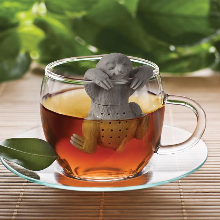 Slow Brew Sloth Tea Strainer & Infuser - Fred