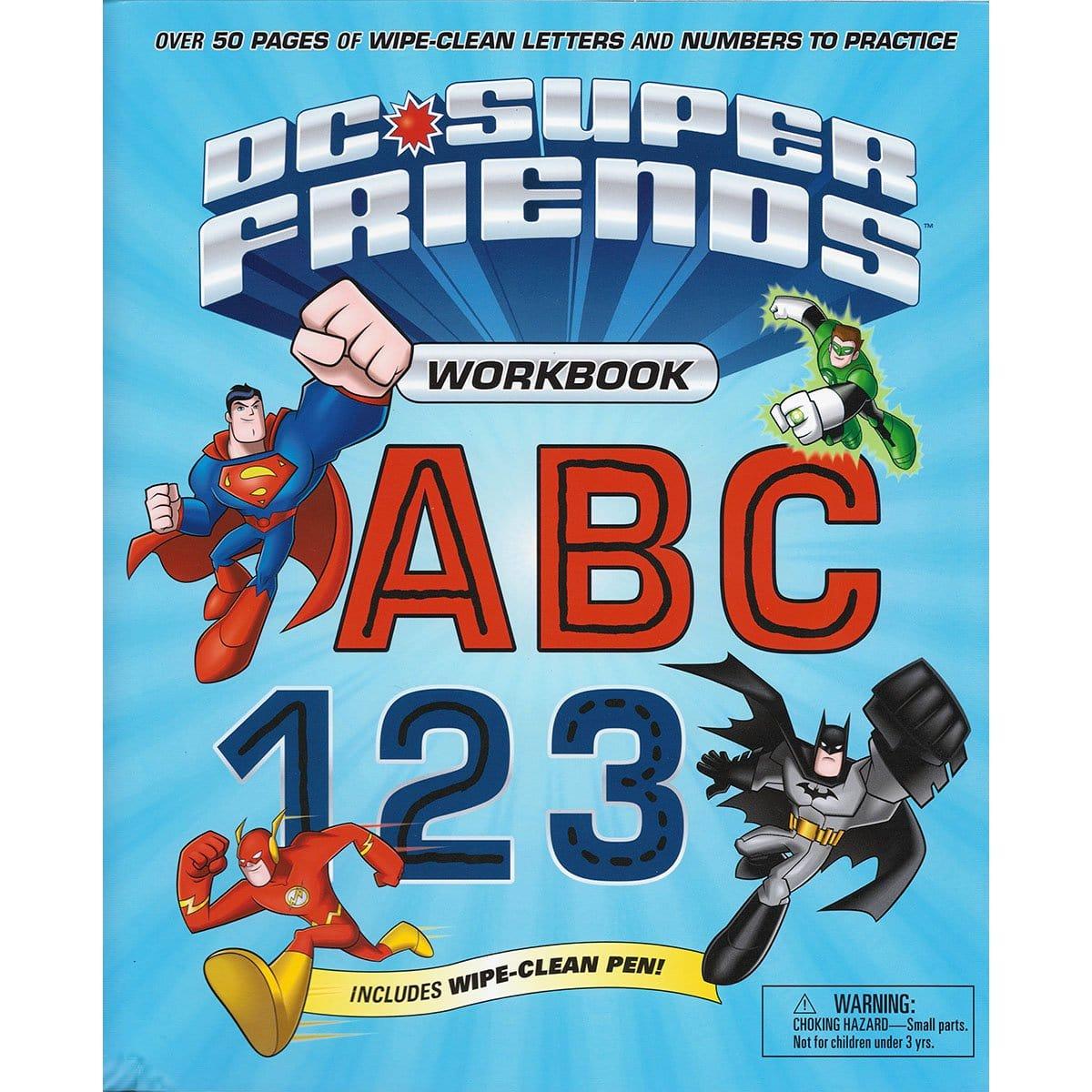 DC Super Friends Workbook ABC 123