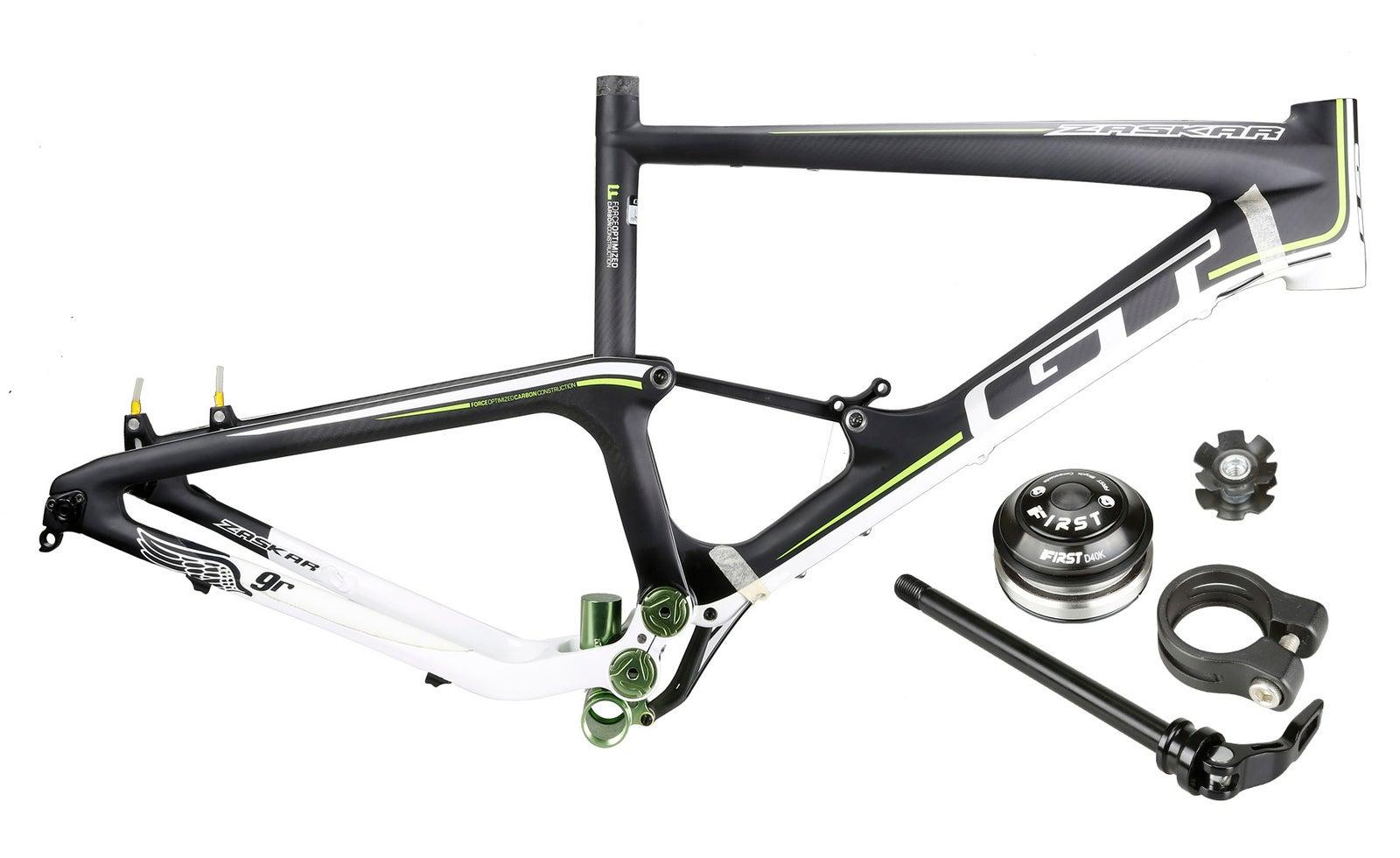 """GT Zaskar 100 9R EXPERT Carbon Mountain Bike Full Suspension Frame 29"""""""