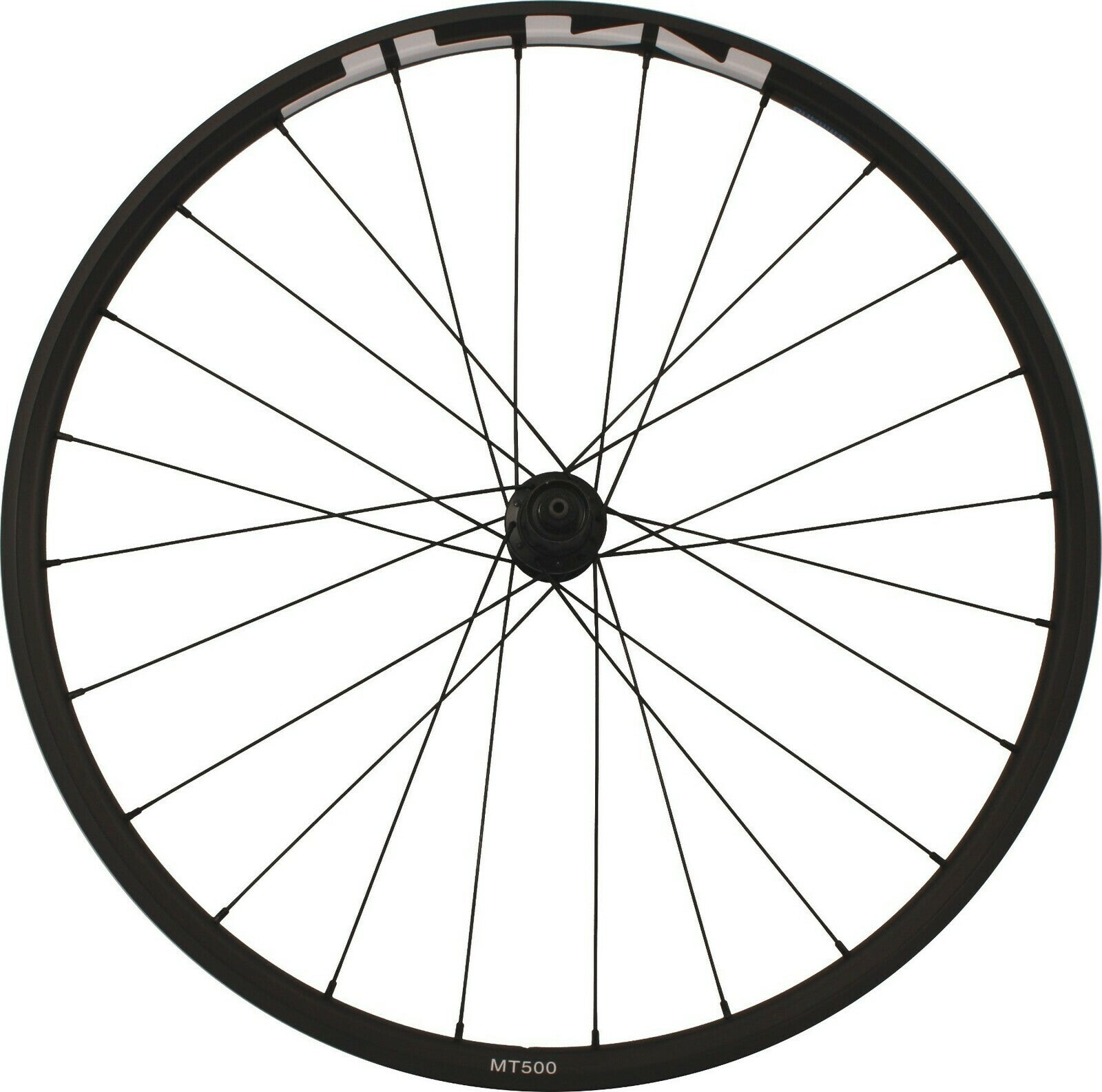 "Shimano WH-MT500 27.5"" (650B) Centrelock MTB Front Wheel Black"