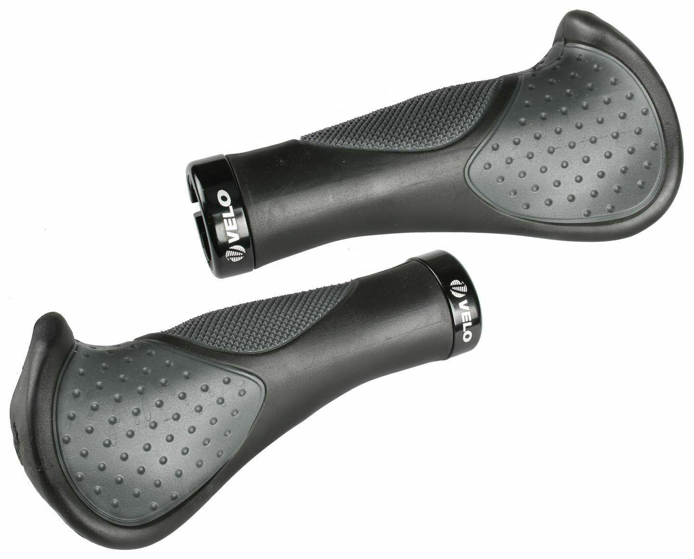 VELO VLG-1189D3 MTB Bike Handlebar Grips 139mm