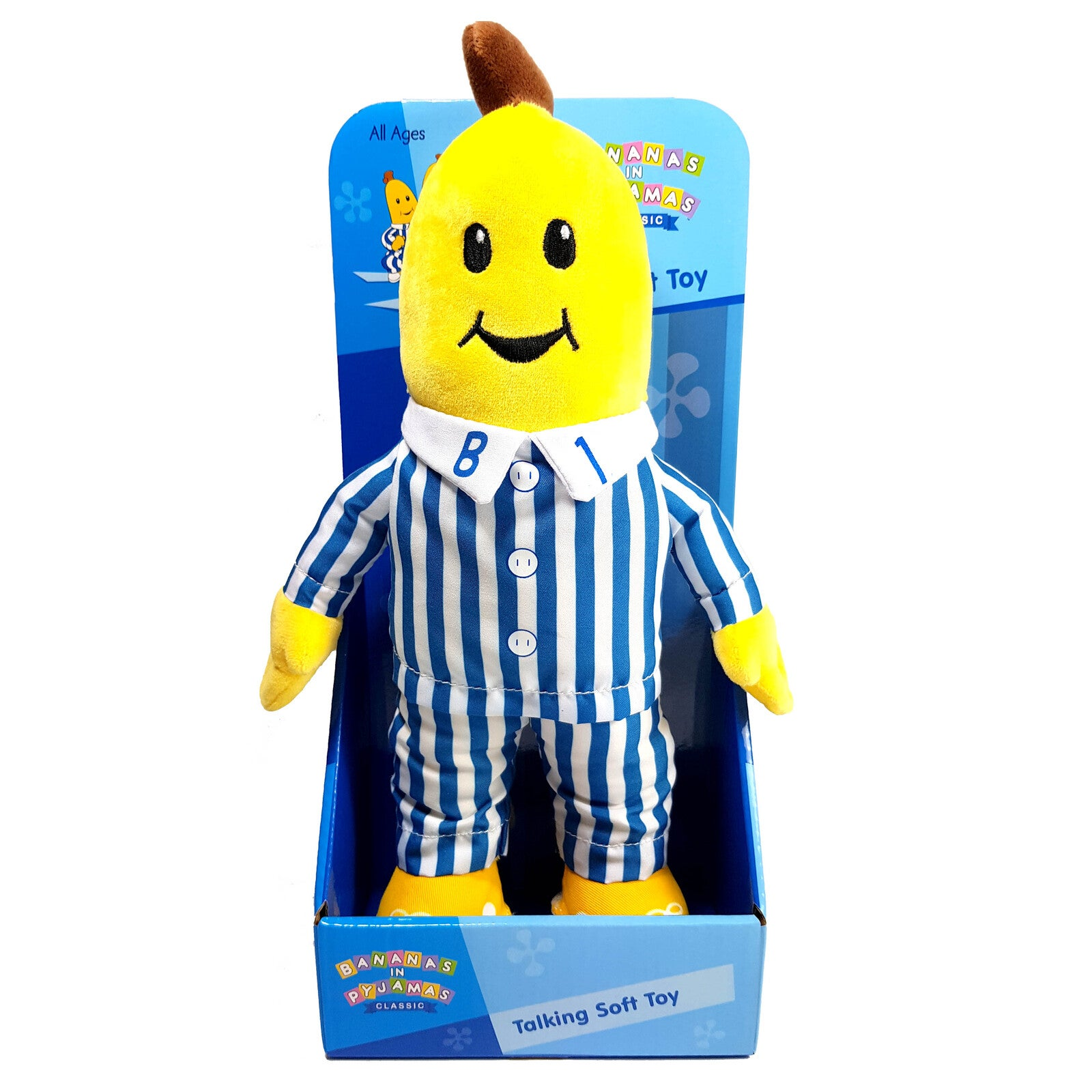 Talking B1 Bananas in Pyjamas Plush