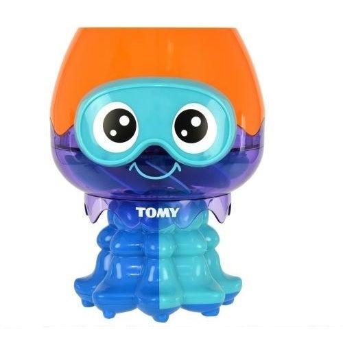 Tomy Spin Splash Jellyfish Water Toy For Baby/Toddler- Bath/ Shower/ Pool Fun