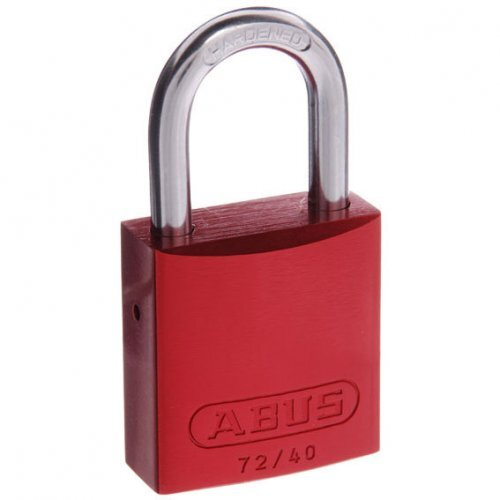 Abus Padlock 72/40 Red Tt00260