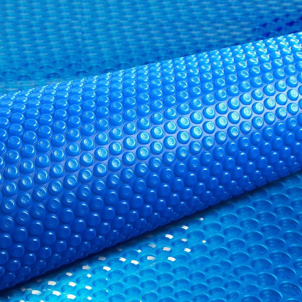 Aquabuddy 9.5X5M Solar Swimming Pool Cover 500 Micron Isothermal Blanket