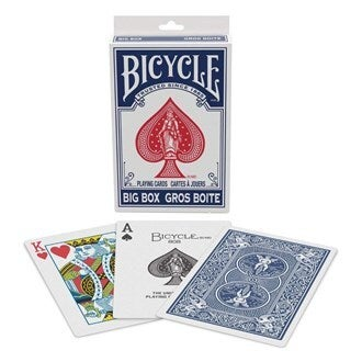 Bicycle Playing Cards - Big Box Deck