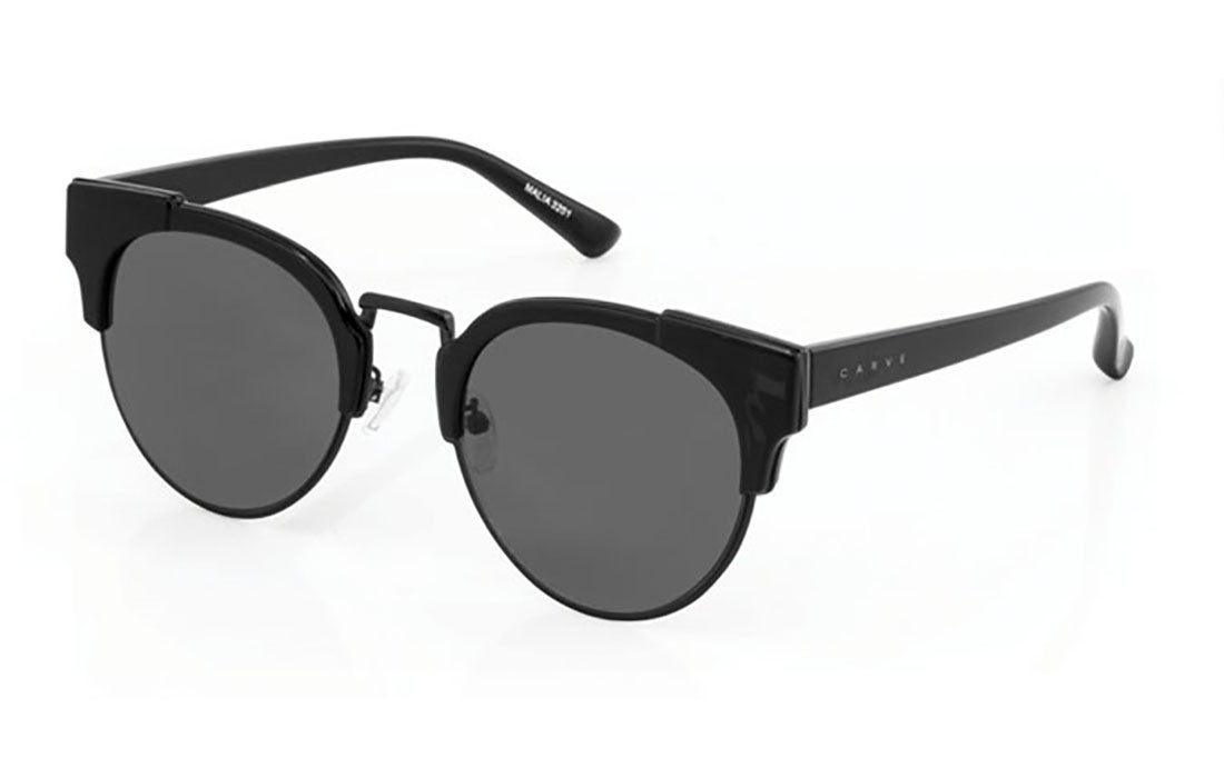 Carve Malia Gloss Bls With Matt Black Metal Grey Lens - Sunglasses