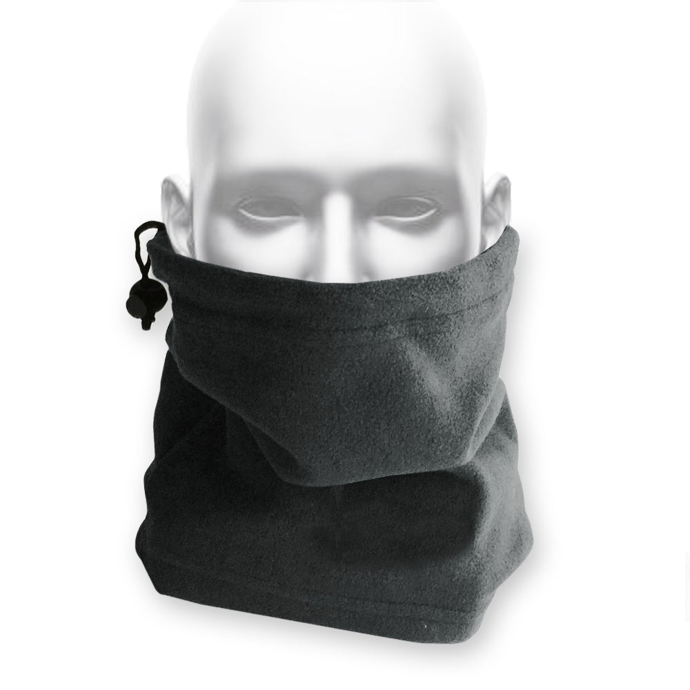 FIND™ Polar Fleece Neck Warmer Face Shield Neck Scarf Head Sock Grey