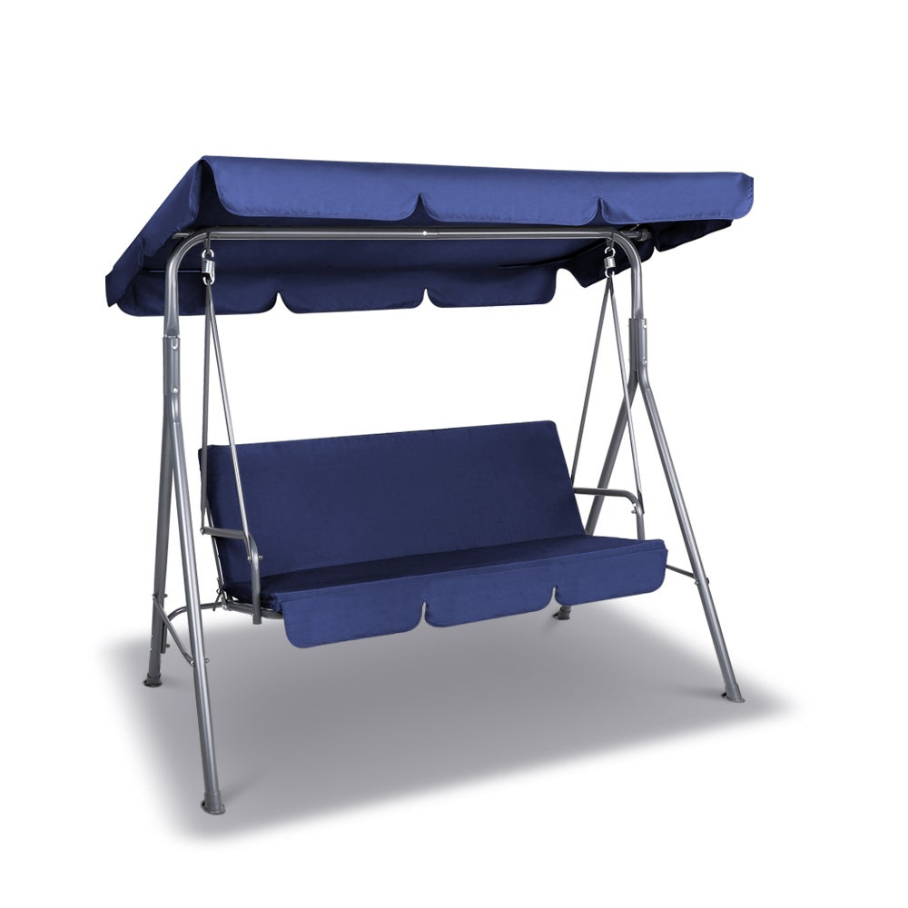 Gardeon Canopy Swing Chair - Navy