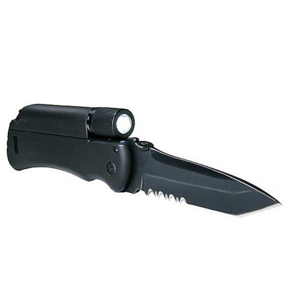 Land & Sea Spark Stone Knife & Torch Tool