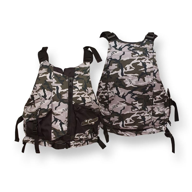 Ultra Life Jacket PFD – Personal Floating Device - Gorge Camo