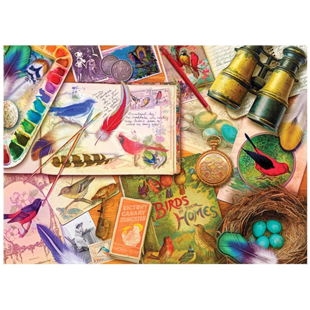 Holdson - Treats 'n Treasures - Vintage Birdwatcher Puzzle 1000pc
