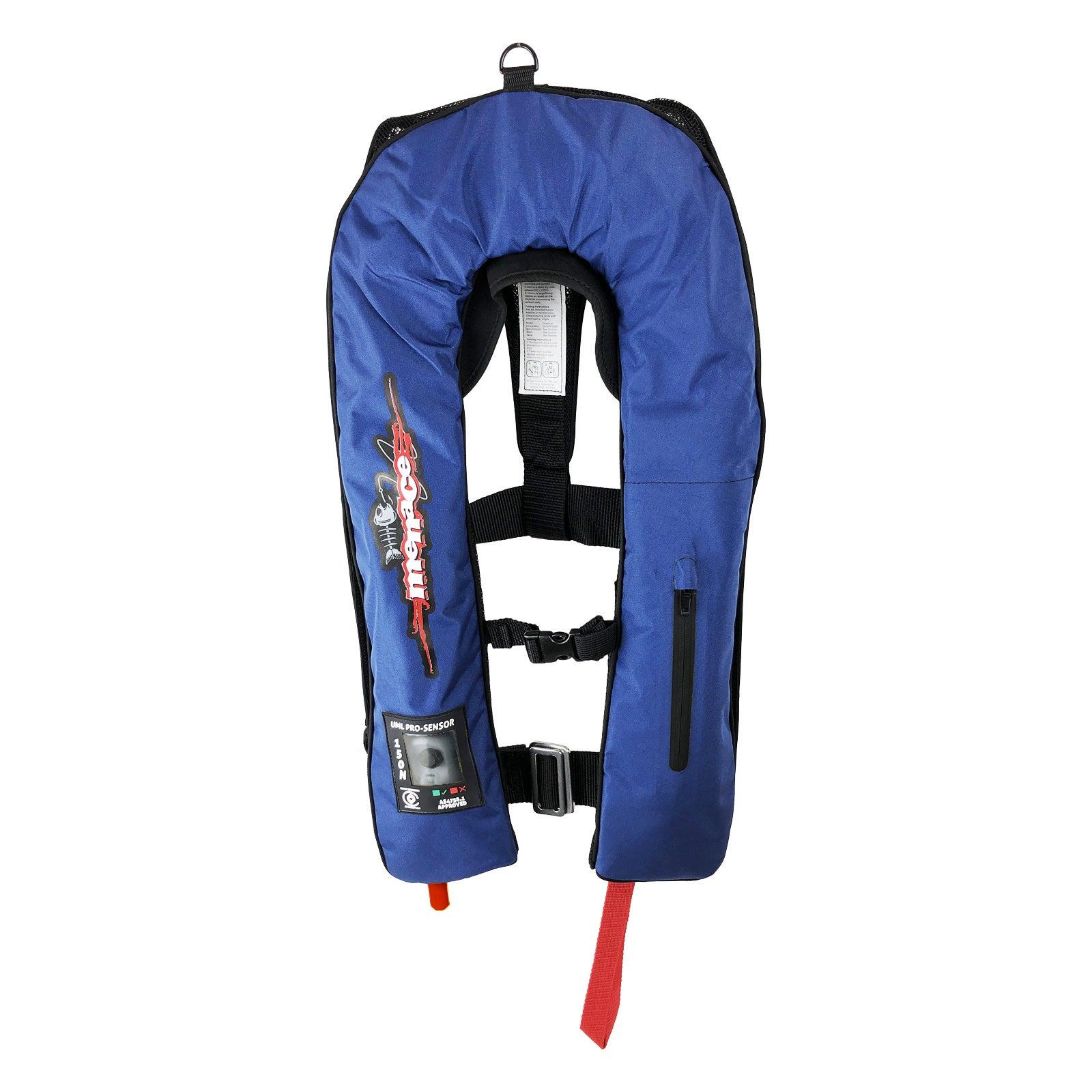 AUTOMATIC PRO Inflatable Life Jacket PFD Type 1 LifeJackets Level 150N