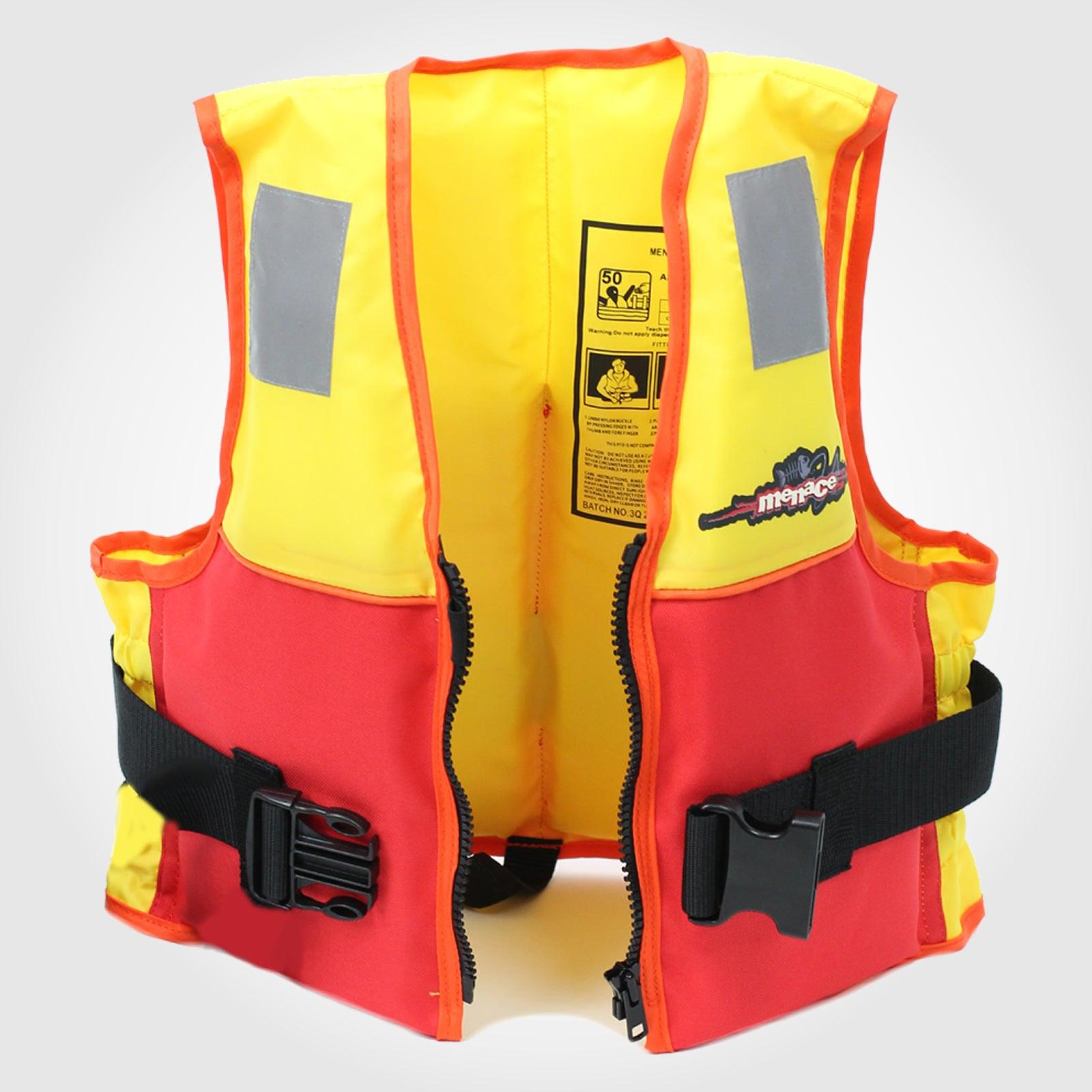 ADULT LARGE Life Jacket PFD Water Jet Ski Kayak Foam Lifejacket Type 2 Level 50