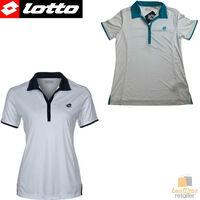 LOTTO Womens Polo Share Tennis Button Shirt Top T Shirt Performance Q6089 N5774