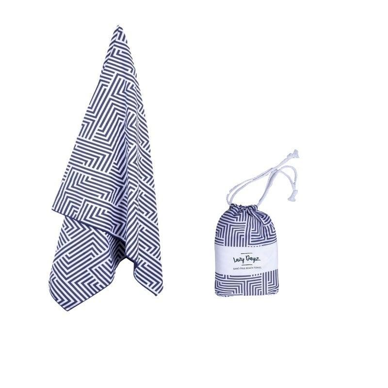 80x160cm X-Large Microfibre Sand-Free Beach Towel Quick Dry Travel Towel Quick