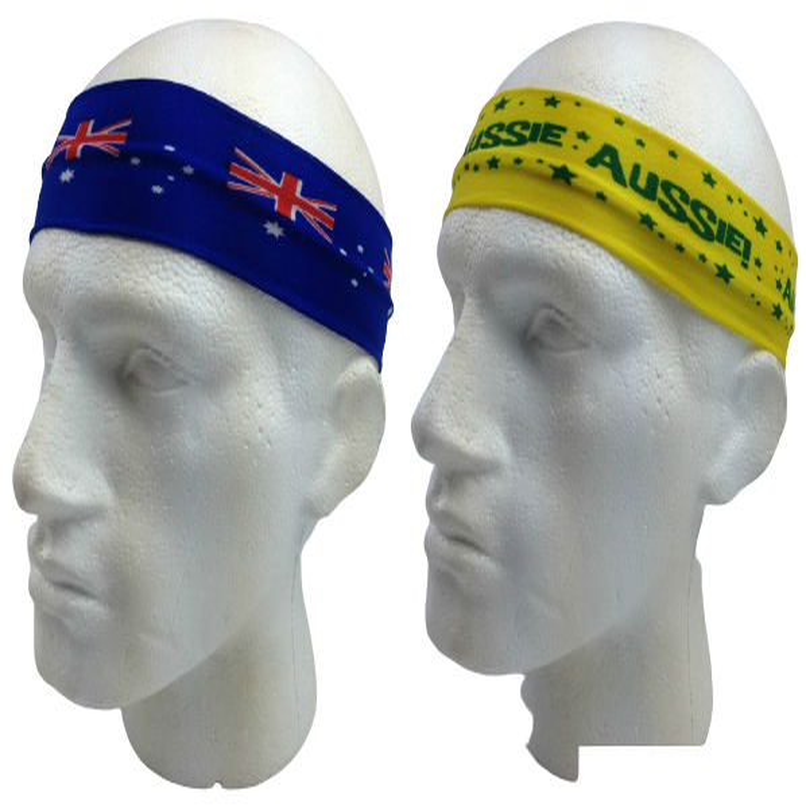 Aussie Flag Australia HEADBAND For Tennis Cricket Australia Day Costume Oz