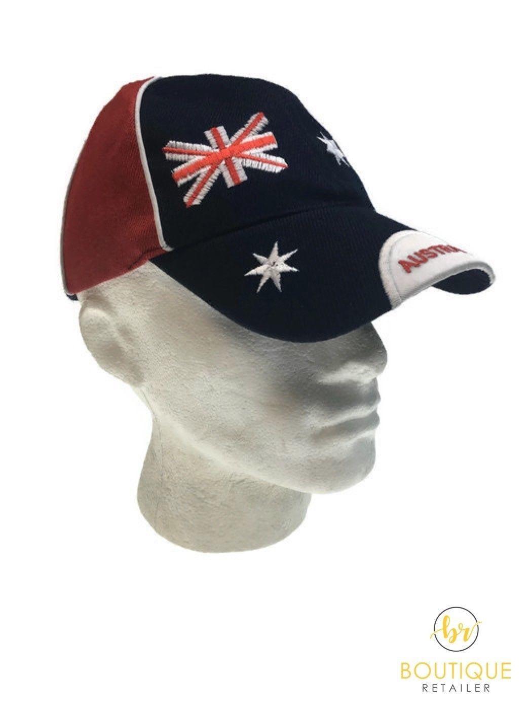 Australia Flag Baseball Cap Hat Summer Aussie Day Souvenir Gift New
