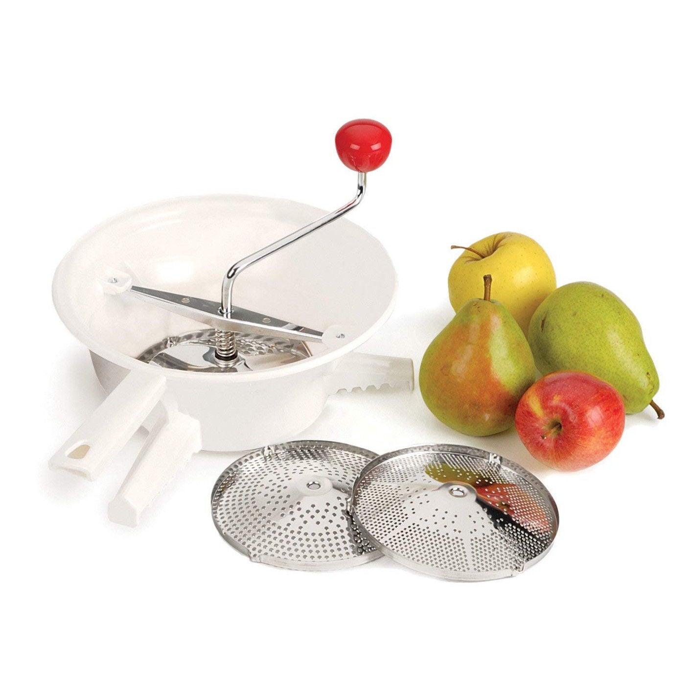 AVANTI Rotary Food Mill + 3 Discs Mouli Ricer Vegetable Food Chopper BPA FREE