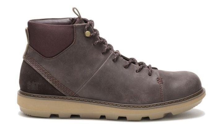 Caterpillar Cat - Brusk Hi - Dark Brown - Mens Shoes Boots
