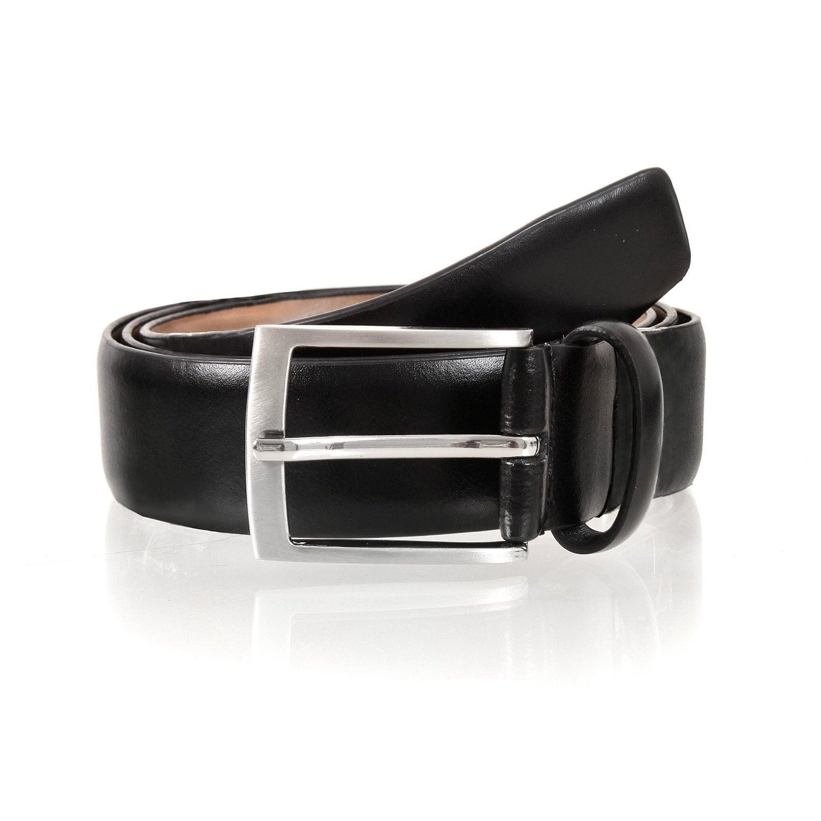 Dents Premium Quality Leather Belt Full Grain Classic Genuine