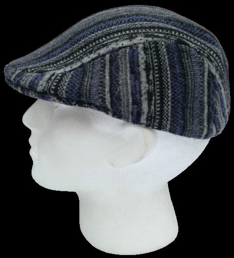 KANGOL Pixisle 507 Ivy Cap K0513FA Ergonomic Driving Mens Hat Black