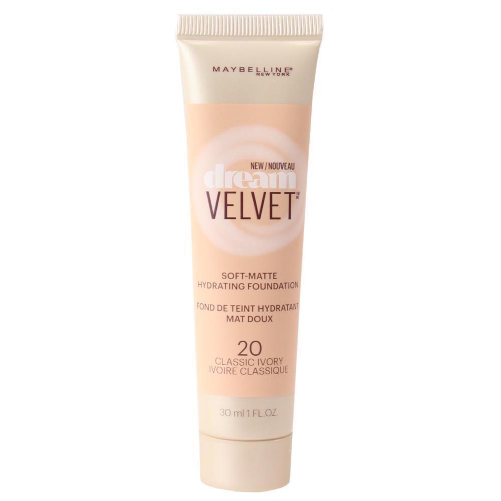 Maybelline 30ml Dream Velvet Soft Matte Foundation - 20 Classic Ivory