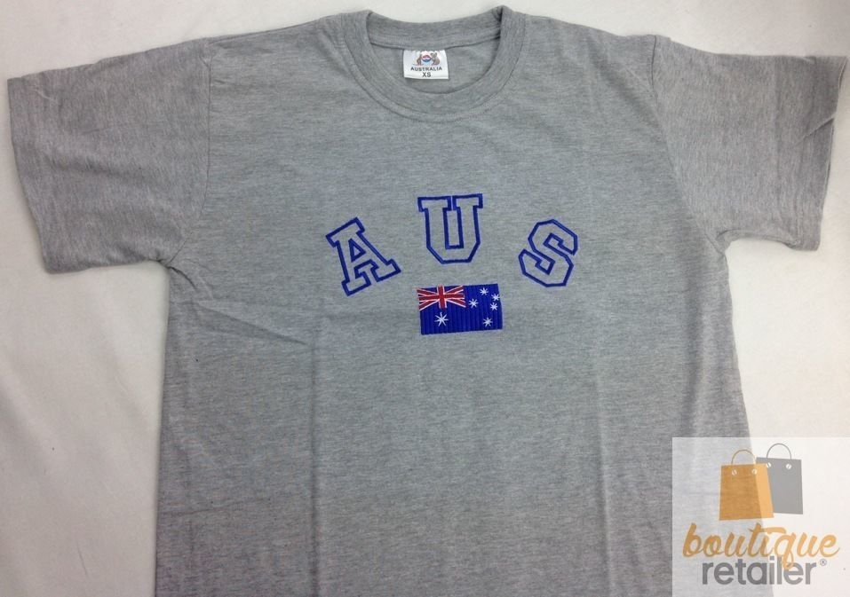Mens AUSTRALIA T Shirt Australia Day COTTON Blend Souvenir XS-XLTee Top Flag New