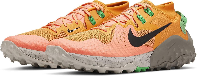 Nike Men's Wildhorse 6 Shoes-Kumquat/Green Spark Orange Tennessee
