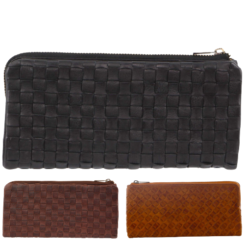 Pierre Cardin Women's Rustic Leather Wallet Ladies Coin Purse ID Card Holder
