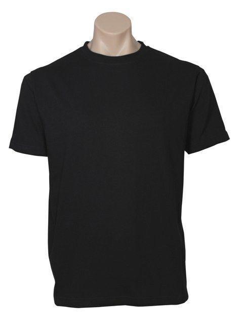 Plain T-Shirt 100% COTTON Basic Blank Tee Men's Ladies Casual BULK XS-5XL Adults
