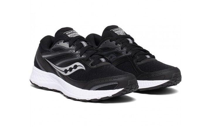 Saucony Men's Versafoam Cohesion 13 Runners Sneakers - Black/White