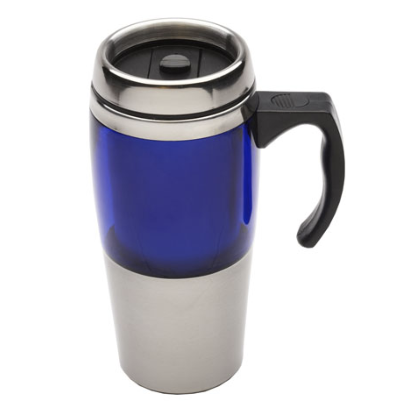 Velo Mug Travel Cup Stainless Steel Insulated Coffee Thermal Bottle - Blue