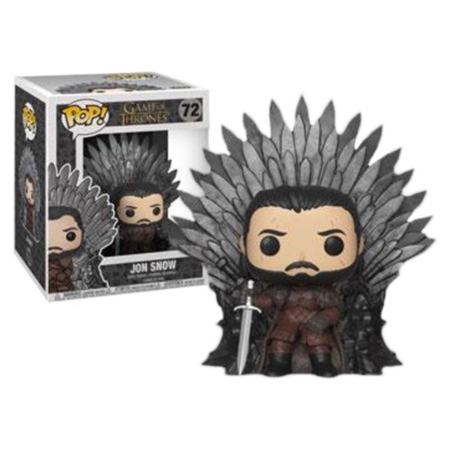 Funko Pop Game of Thrones Jon Snow Iron Throne 6inch #72
