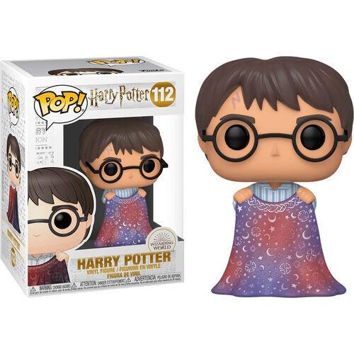 Funko POP Harry Potter With Invisibility Cloak #112 Vinyl Figure