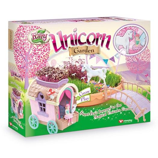 My Fairy Garden Unicorn Garden With Caravan