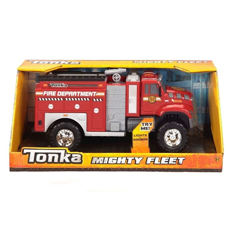 Tonka Mighty Fleet lights & sound Choose from Fire engine, Garbage Truc, Firetruck, or Police