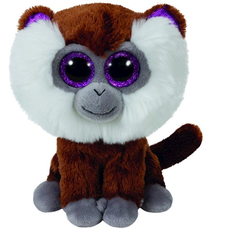 "Ty Beanie Boos Regular 6"" - Tamoo the Monkey Plush"
