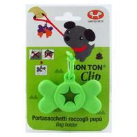 United Pet Bon Ton Clip Green