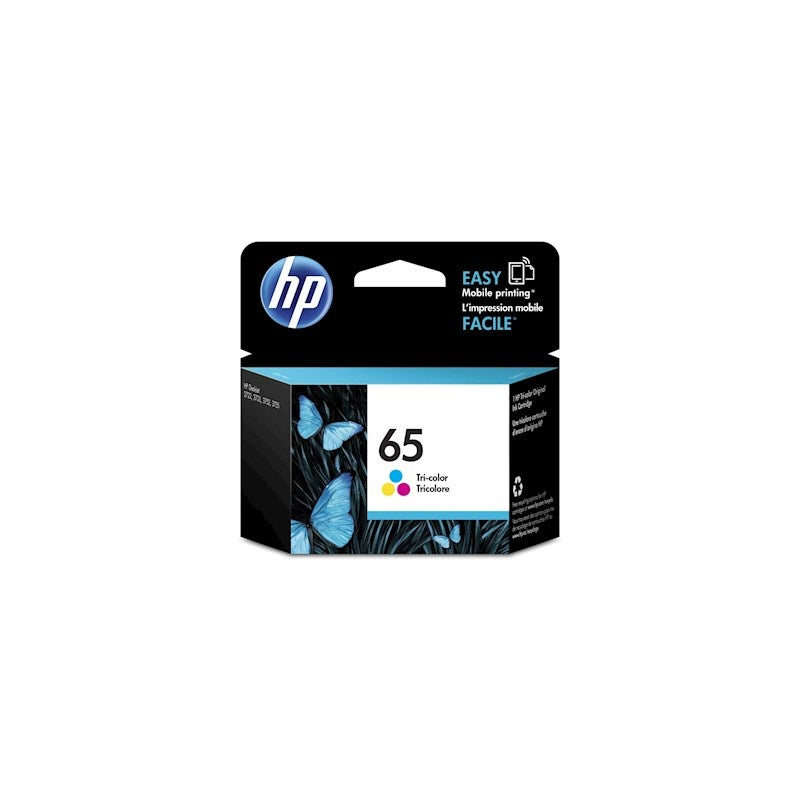 Hp #65 Tri Colour Ink N9k01aa - 100 Pages