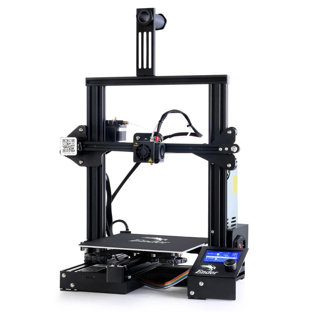Creality Ender 3 Pro 3D Printer Glass Bed Resume Printing High Precision