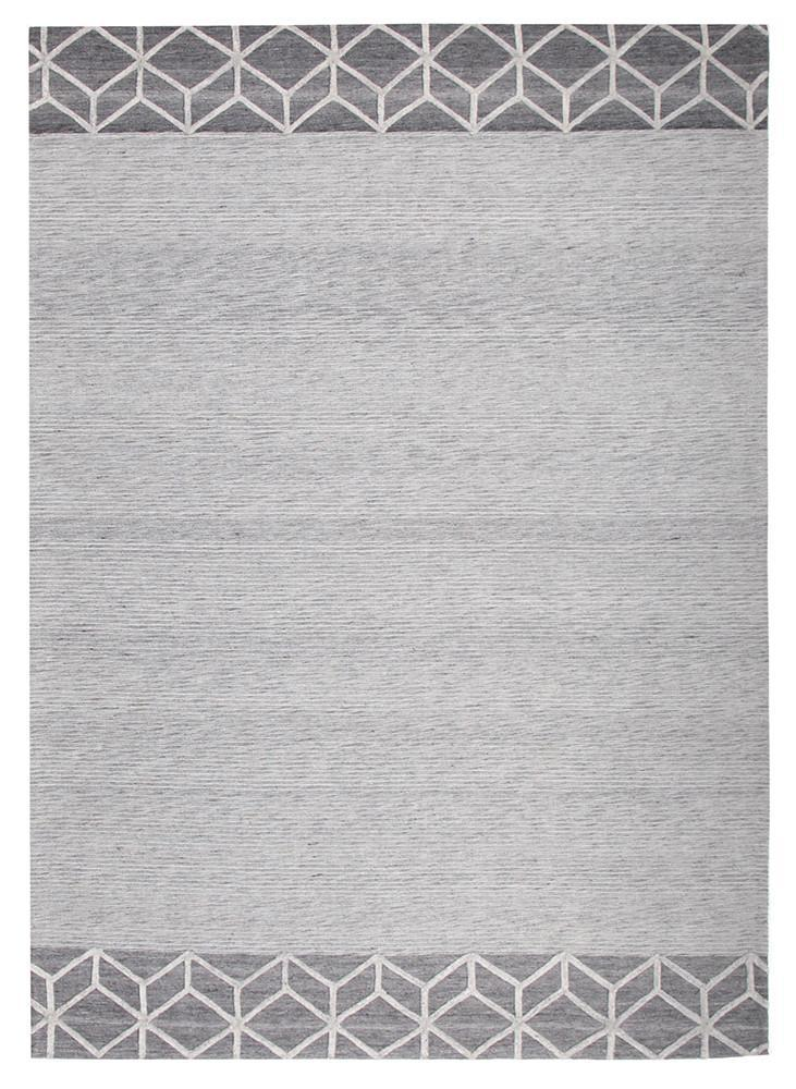 Visions Winter Grey Pulse Modern Rug