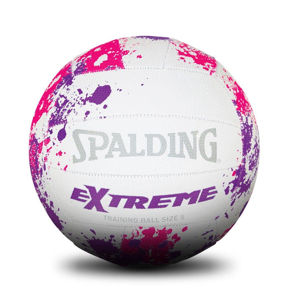 Spalding Extreme Training Netball Pink & Purple Size 5