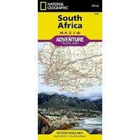 South Africa Adventure Map : Travel Maps International Adventure Map