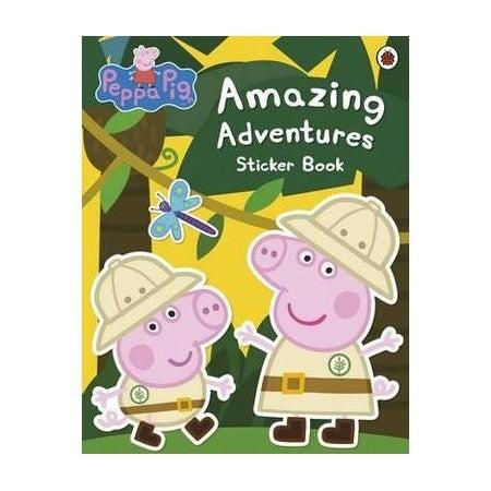 Amazing Adventures Sticker Book : Peppa Pig Series