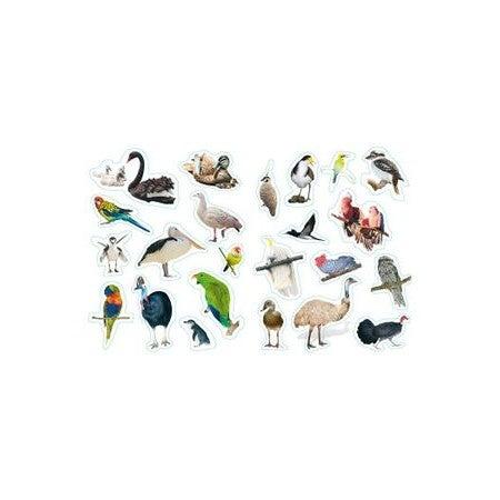 Beautiful Australian Birds : Sticker Book