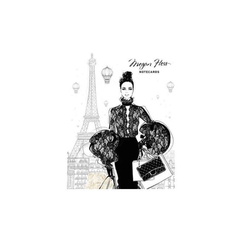 Chic : A Fashion Odyssey - Megan Hess Boxed Notecard Set : 16 Notecards (4 Different Designs) and Envelopes