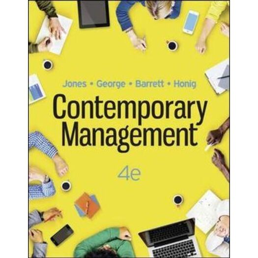 Contemporary Management : 4th edition